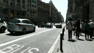 Stock Video Footage of Barcelona Via Layetana 03