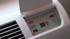 1080p Air Conditioner and Heater - stock footage
