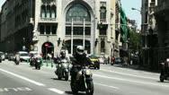 Stock Video Footage of Barcelona Via Layetana 05