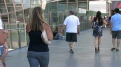 1080p Las Vegas Homeless Man 3 Stock Footage