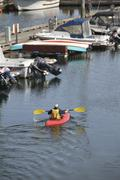 Stock Photo of Petersburg, kayaking