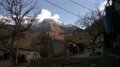 High Atlas Mountain Village 002 Stock Footage