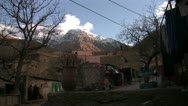 Stock Video Footage of High Atlas Mountain Village 002