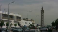 Agadir street 003 - stock footage