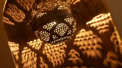 Arabic Lamp - stock footage