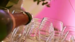Sparkling wine Stock Footage