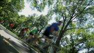 Bicycles-1 Stock Footage