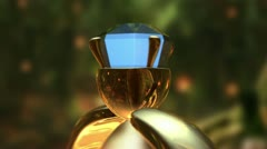 Sapphire Ring Stock Footage