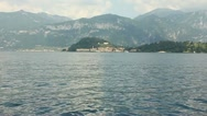 Stock Video Footage of Lake Como #2