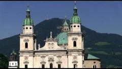 Salzburg Domplatz  Stock Footage