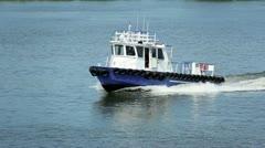 Tug Boat 2540 Stock Footage