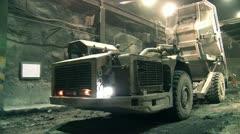 Mines truck Stock Footage
