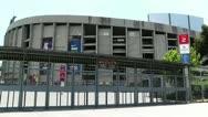 Stock Video Footage of Stadium Camp Nou 01