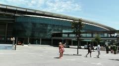 Stadium Camp Nou 04 Stock Footage
