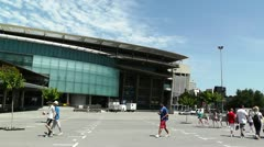 Stadium Camp Nou 05 Stock Footage