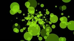Green dot Stock Footage