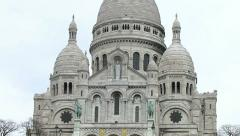Sacre Coeur - Paris - stock footage