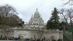 Sacre Coeur - Paris Stock Footage