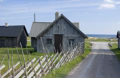 Fishing cottage Stock Photos