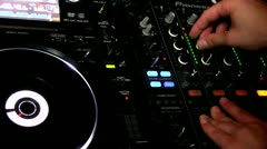Disc jockey Stock Footage