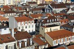 View of the city of Lisbon, Portugal. Stock Photos
