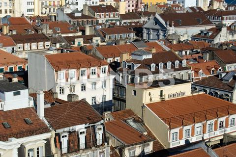 Stock photo of View of the city of Lisbon, Portugal.