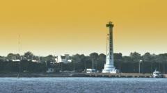 Cozumel Lighthouse 2560 - stock footage