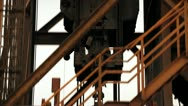 mining drill Stock Footage