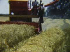Case Combine Stock Footage