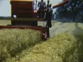 Stock Video Footage of Case Combine