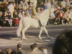 Vintage Parade Stock Footage