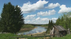 River Unia Stock Footage
