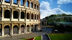 Colosseum Stock Footage