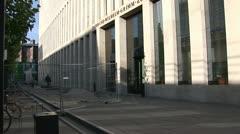 Jacob-und-Wilhelm-Grimm-Zentrum in Berlin Stock Footage