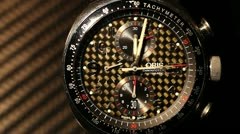 Expencive watch clockwork 1 Stock Footage
