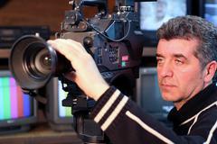 Camera Operator Stock Photos