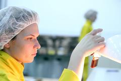 Lab Technician - Quality Control Stock Photos
