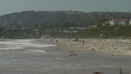 Stock Video Footage of Salt Creek Beach zoom out