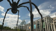 National Gallery of Canada Spider Stock Footage