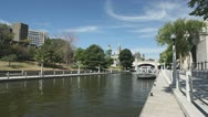 Rideau Canal Summertime Stock Footage