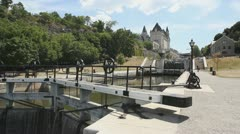 Rideau Locks Stock Footage