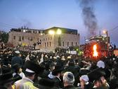 Stock Photo of Hasidic celebration of Lag B'omer in Meron