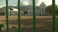 Presidential Palace After Earthquake Wide Shot Stock Footage