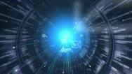 Digital tunnel. Internet. Technology background. Stock Footage