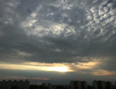 4K Lightrays Clouds Sunset Timelapse over Industrial City 02 Stock Footage