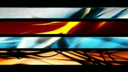Looping Lower Thirds Alpha Channel Element R44222 Stock Footage
