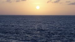Sea Sunset 2585 - stock footage