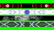 Green Screen Abstract Looping Lower Thirds X33 Stock Footage