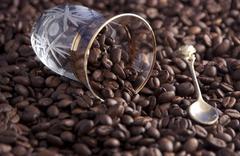Coffeebeans - stock photo