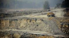 Stock video footage Belaz mining truck Stock Footage
